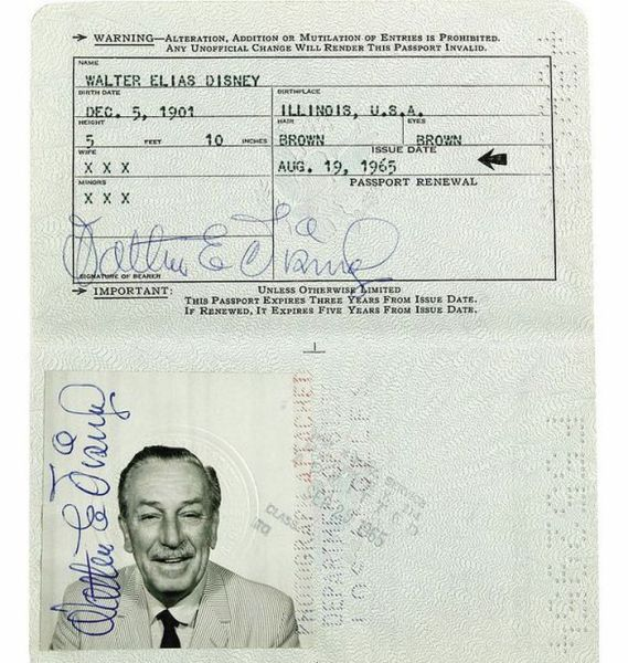 Passport Photos of Iconic Figures in The Past (9)