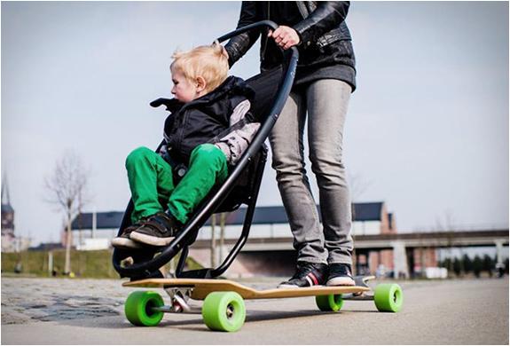 longboard-stroller